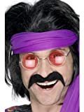 Smiffys 70's Tash Fancy Dress (Black)