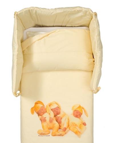 Anne Geddes Set Quilt + Paracolpi Bunnies