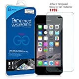 JETech® Tempered Glass Screen Protector Retail Packaging for Apple iPhone 5/5S/5C