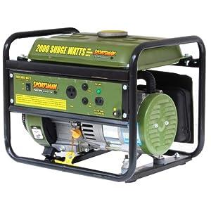 Sportsman GEN154 2,000 Watt 2.8 HP 87cc OVH 4-Stroke Gas Powered Portable Generator