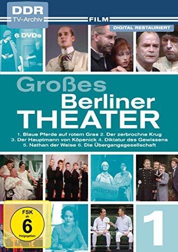 Großes Berliner Theater - Vol. 1 (DDR-TV-Archiv) [6 DVDs]