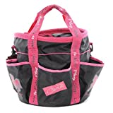 Carrots Girl's Grooming Bag - Black/Pink
