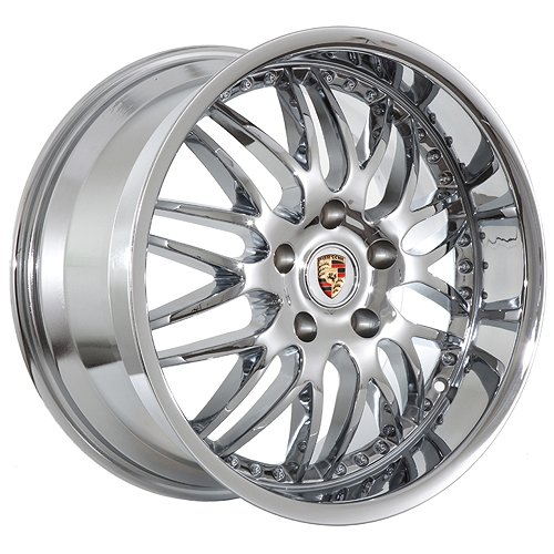 19 Inch Porsche Wheels Rims Chrome (set of 4)