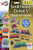 3D Shrinky Dinks Trains and Tracks