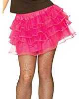 Costume Culture Women's 80's Petticoat Skirt