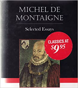 Michel de montaigne essays summary