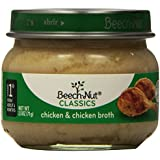 Beech-Nut Stage 1 Chicken and Broth, 2.5 Ounce (Pack of 10)