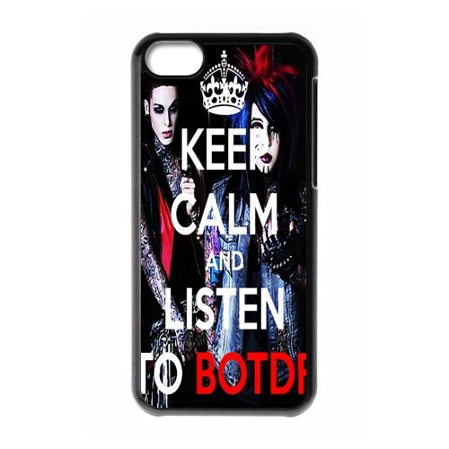 D-3 Music Band Blood on the Dance Floor Print Black Case With Hard Shell Cover for Apple iPhone 5C