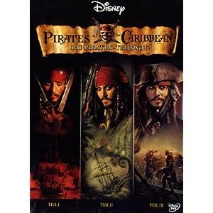 Fluch der Karibik 1-3 (DVD)