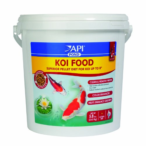 Api Pond Koi Fish Food 5 8 Pound Animals Pet Supplies Pet