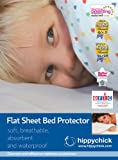Hippychick Mattress Protector Flat Sheet - 200 x 150cm Double