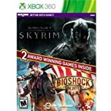 TAKE-TWO THE ELDER SCROLLS V: SKYRIM & BIOSHOCK INFINITE BUNDLE. - XBox 360 / 49380 /