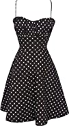 508242s Retro Rockabilly Polkadot Dress Sundress