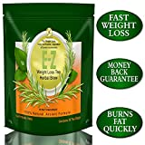E-Z Detox Diet Tea: Fat Burner. Appetite Suppressant. Fast Weight Loss and Body Cleanse