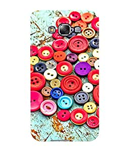 Mental Mind 3D Printed Plastic Back Cover For Samsung Galaxy E7- 3DSAME7-G1216
