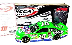 Buy AUTOGRAPHED 2013 Danica Patrick #10 GODADDY SALUTES (Patriotic) Lionel RCCA ELITE 1 24 SIGNED NASCAR Diecast Car w  COA... by Trackside Autographs