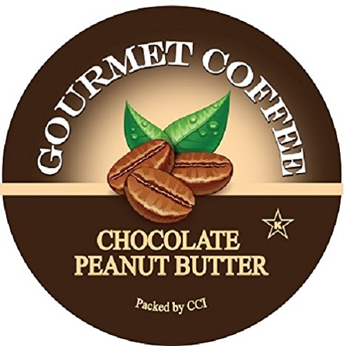 Smart Sips, Chocolate Peanut Butter Gourmet Coffee, 24 Count, For Keurig K-Cup Brewers (Godiva Espresso Beans compare prices)