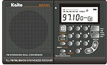 Kaito KA1101 AM/FM Shortwave Radio, Black