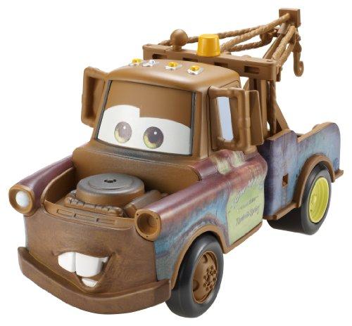 Buy Low Price Mattel Cars 2 Pullback Racers Mater Figure (B004J18K0I)