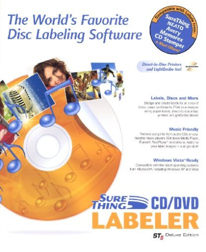 Sure Thing Cd/Dvd Labler St5 Deluxe Edition