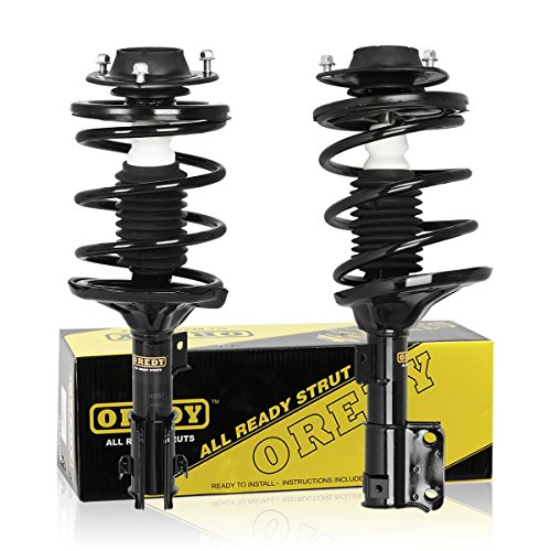 Front Pair Complete Quick Strut Assembly Shock Absorber 11191 11192 for 2001 2002 2003 2004 2005 Dodge Stratus Chrysler Sebring (Dodge Stratus Coil Springs compare prices)