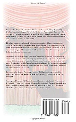 Il berretto a sonagli: Commedia in due atti: Volume 14 (Il teatro di Pirandello)
