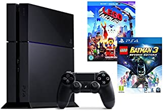 Sony PS4 Console with Lego Batman 3: Beyond Gotham and The Lego Movie [Blu-ray + UV Copy]