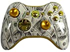 Drop Shot Auto Aim Zombies Xbox 360 Modded Controller COD Ghosts MW3 Black Ops 2 MW2 Rapid Fire Mod Money 100 Dollar Bills Metal Thumbsticks GTA5 GOW