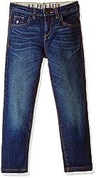 US Polo Association Boys Jeans (JN5134_Blue _10 - 11 years)