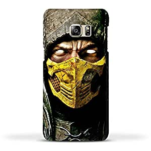 FUNKYLICIOUS Galaxy Note 5 Edge Back Cover Scorpion King Mortal KOmbat Design (Multicolour)