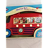 Animal Bus With 4 Animal Sounds, Press For Sound And Melodies. Battery Operated, Batteries Included