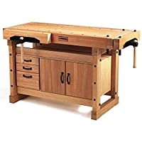 Sjobergs Elite 1500 Workbench plus Cabinet Combo