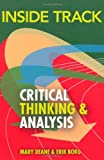img - for Inside Track to Critical Thinking and Analysis book / textbook / text book