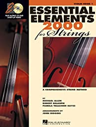Essential Elements 2000 for Strings: Book 1 with CD-ROM (Violin)