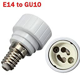 (5266-u) E14 TO GU10 LIGHT LAMP BULB ADAPTER CONVERTER (USA)