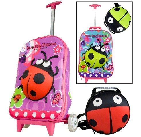 Kinder-Kofferset, Koffer + Rucksack, 2er Kinderreiseset