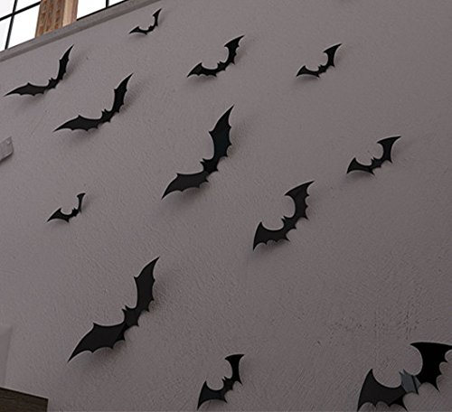 YINGKAI-DIY-Halloween-Party-15pcspack-Black-PVC-3D-Decorative-Bats-Butterfly-Wall-Decal-Wall-Sticker-Halloween-Eve-Decor-Home-Window-Decoration