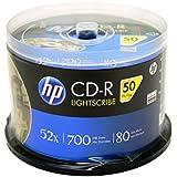 HP Lightscribe CD-R 52X 700MB 50-PK
