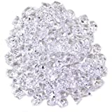 Koyal Wholesale Centerpiece Vase Filler High Quality Acrylic Crushed Ice, 2-Pound, Clear