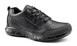 Keuka SureGrip Mens Venture Black Athletic Slip Resistant Work Shoes 11MW