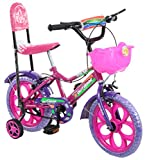 #7: Outdoor Pink 14 Inches Bicycle For Kids 3 to 5 Years