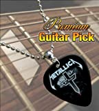 Metallica Black St Anger Premium Guitar Pick Necklace