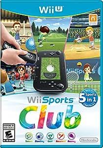 Wii Sports Club Nintendo Wii U NTSC US Version