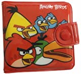 Angry Birds Coin Pouch, Purse Wallet 2 Fold, Card Phone Case Bag for kids (Red) No.2