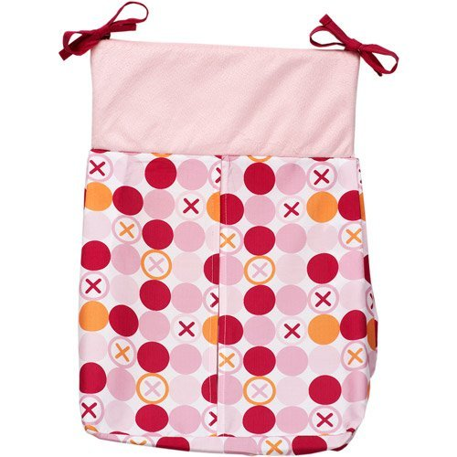 Hugs & Kisses Girl Diaper Stacker - Simply Baby