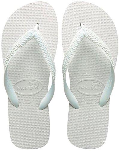 Havaianas Top Infradito, Unisex-adulto, Bianco (White 0001), 39/40 EU (37/38 BR)