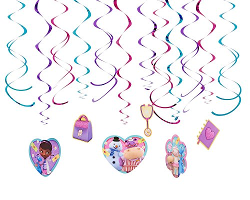 Doc McStuffins Hanging Party Decorations, Party Supplies - 1