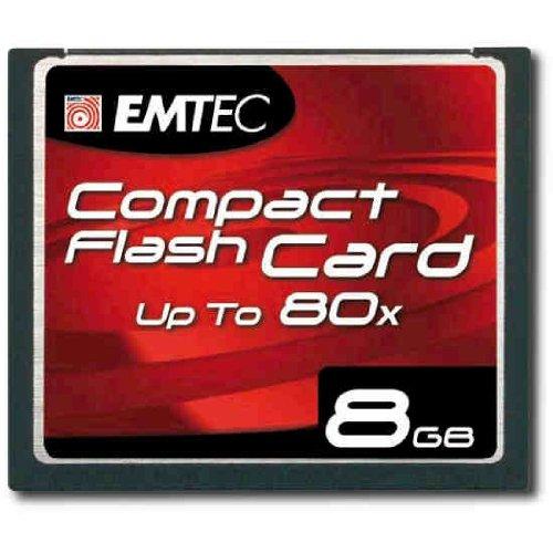 Carte mémoire Compact Flash de 8 Go