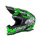 O'neal 7 Series Evo Motocross Enduro MTB Helm Menace schwarz