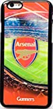 Arsenal Football Club 3D Hard Case for Apple iPhone 6 With Free Screen Protector & Polishing Cloth By DN-TECHNOLOGY